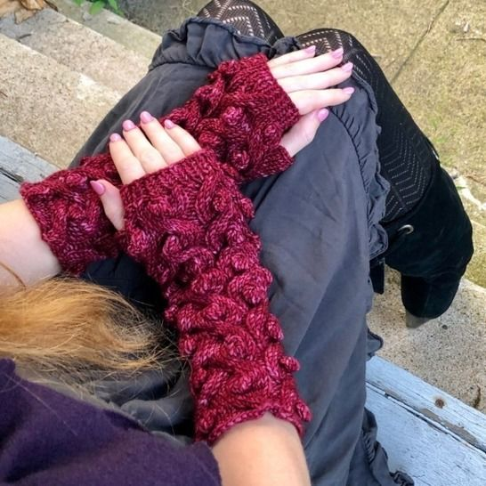 Dragon Cabled Gauntlets at Makerist - Image 1