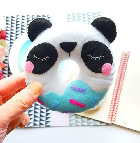 Panda Donut Sewing Pattern at Makerist