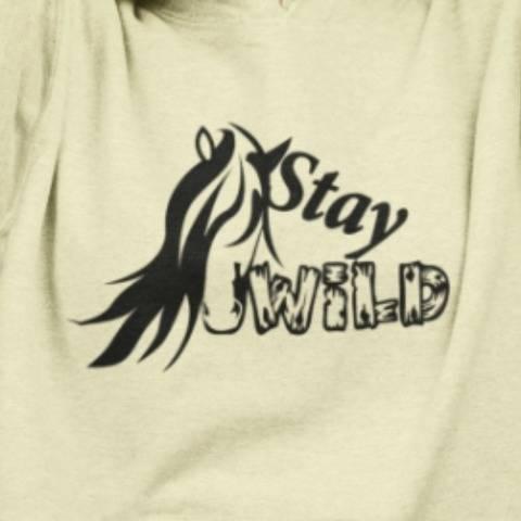Stay Wild - Plotterdatei mit Pferdekopf und Spruch
