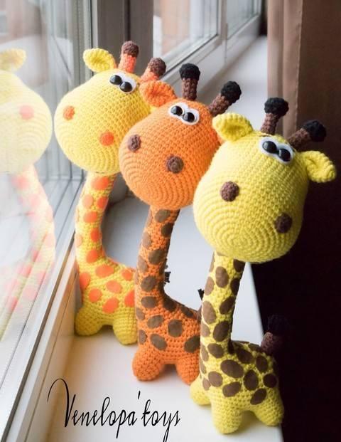Crochet Pattern of Funny Giraffe