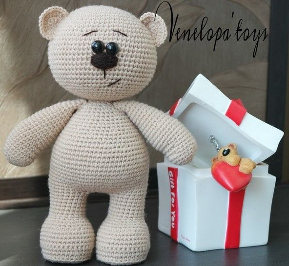 Crochet Pattern of Amigurumi Bear at Makerist - Image 1