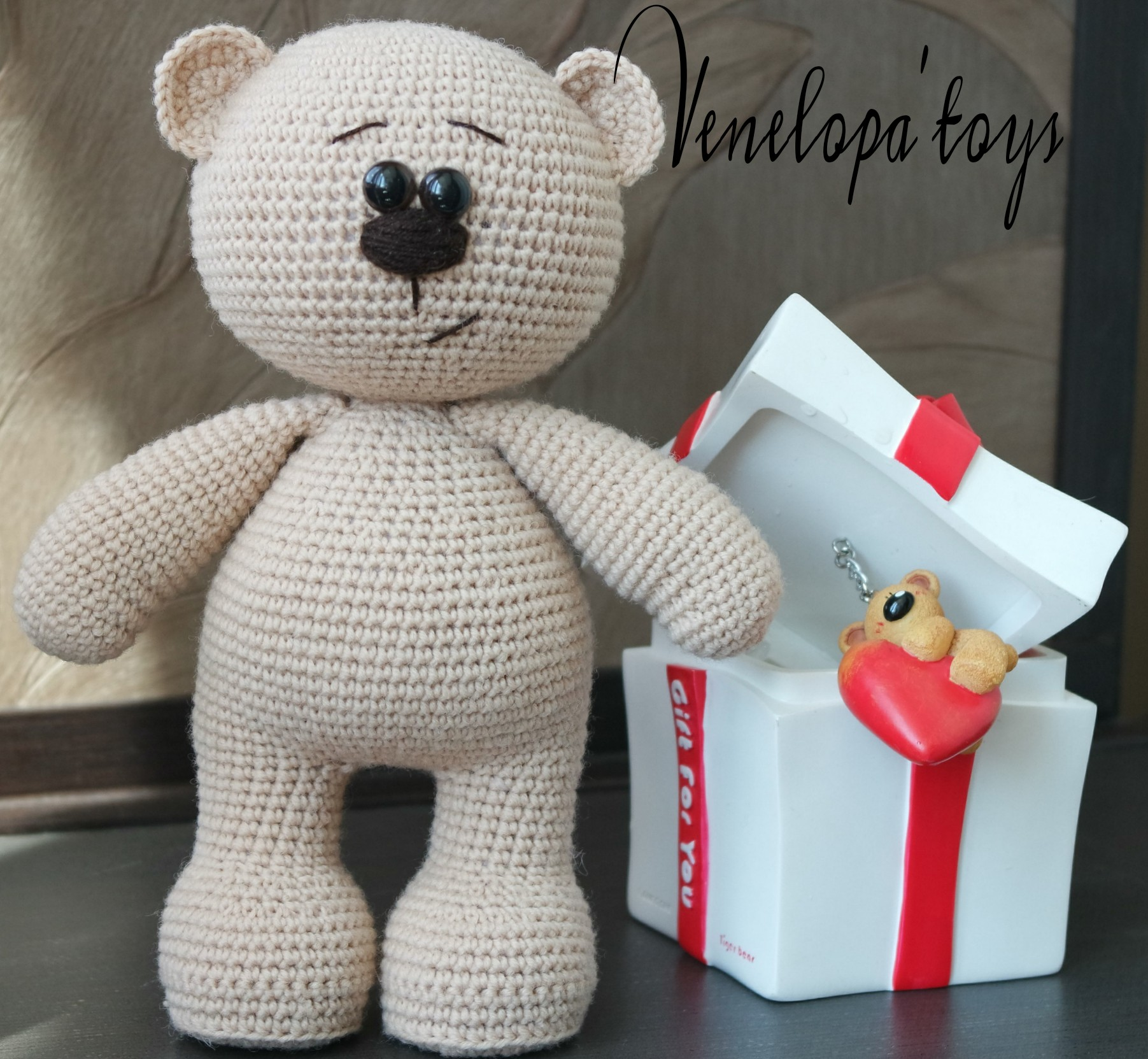 Crochet Pattern of Amigurumi Bear