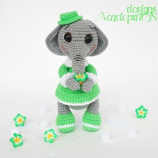Amigurumi Elephant crochet Pattern at Makerist - Image 1