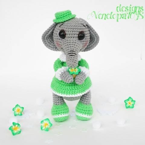 Amigurumi Elephant crochet Pattern at Makerist