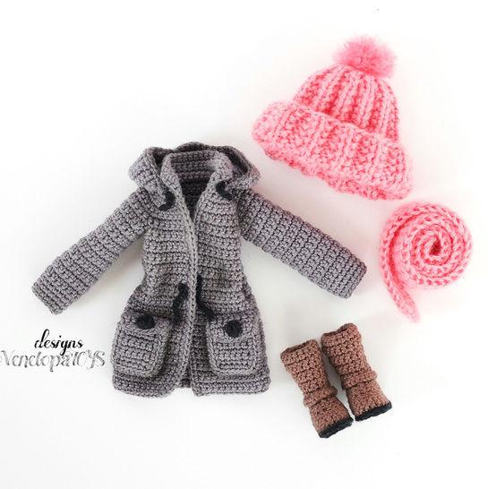 Modèle Vêtements de Poupée Vanessa chez Makerist - Image 1