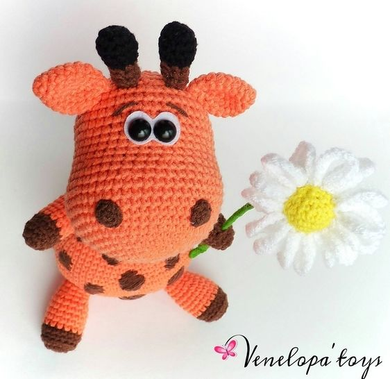Crochet Pattern Amigurumi Giraffe at Makerist - Image 1