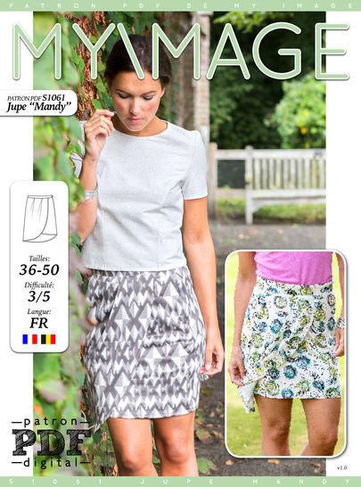 Jupe MANDY Patron de Couture + Tutoriel chez Makerist - Image 1