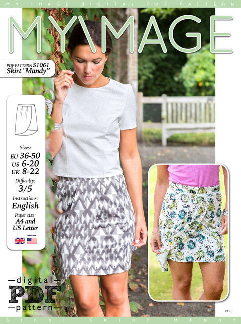 Skirt MANDY PDF Pattern + Tutorial at Makerist