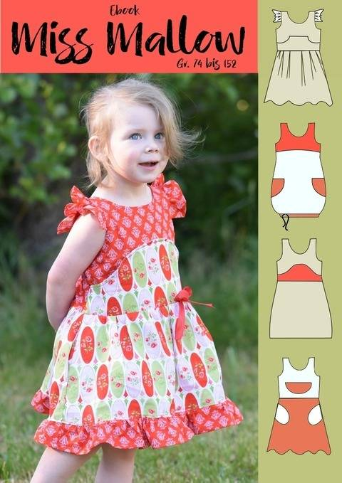 Miss Mallow Kurzkleid Gr. 74 bis 152 bei Makerist