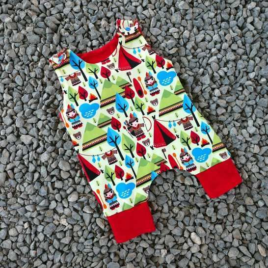 Baby Harem romper pattern  pm-6 years short or long legs at Makerist - Image 1
