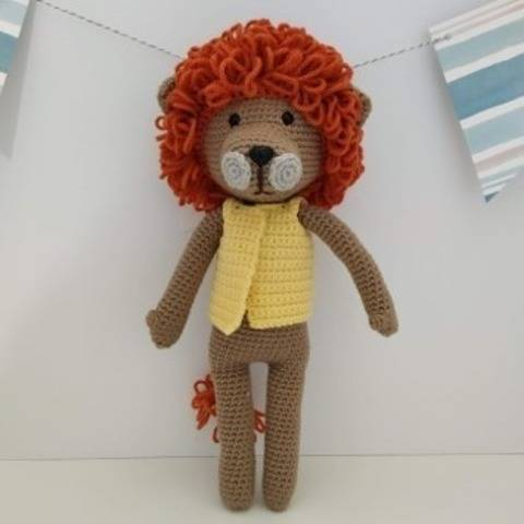 Amigurumi – Saroo le lion - crochet – tutoriel chez Makerist