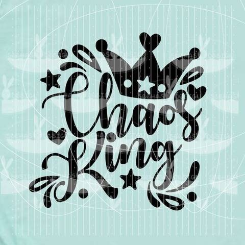 Plotterdatei - Chaos King SVG DXF