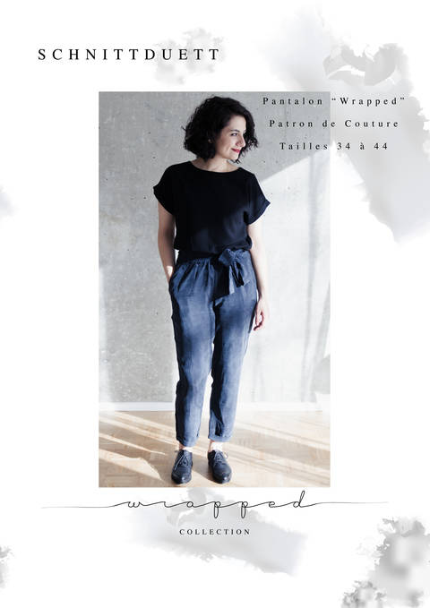 "Pantalon ""Wrapped"" - Patron de Couture PDF chez Makerist"