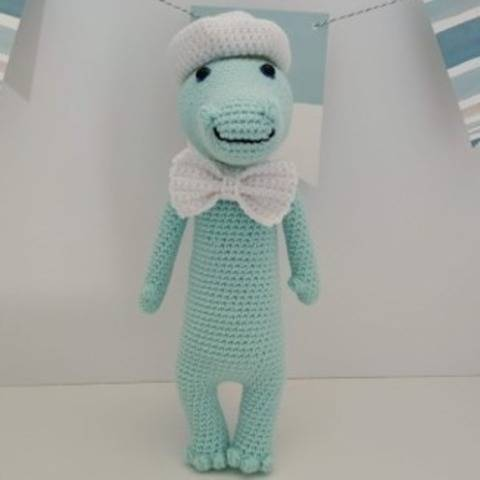 Amigurumi – Cyril le crocodile - crochet – tutoriel chez Makerist