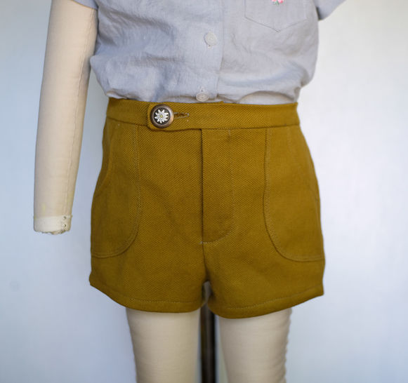 Camp Shorts For babies, toddlers, boys and girls at Makerist - Image 1