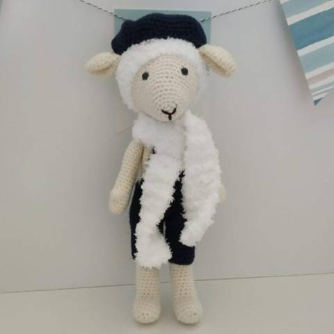 Amigurumi – Philip the sheep - crochet – tutorial