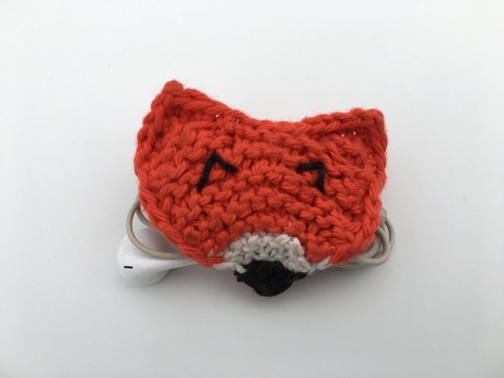 Clever Fox Cord Holder at Makerist - Image 1