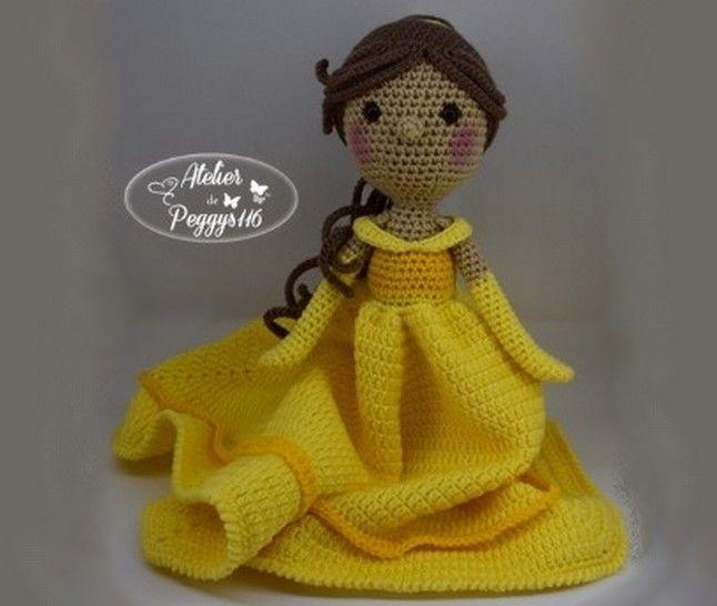 Belle (Poupée couverture) chez Makerist - Image 1