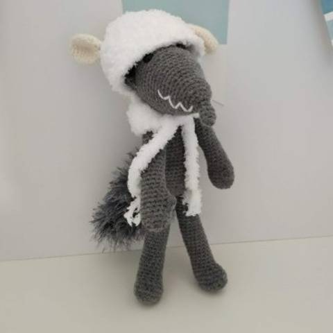 Amigurumi – Wolfgang the wolf - crochet – tutorial