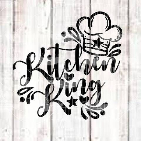Plotterdatei - Kitchen King SVG DXF