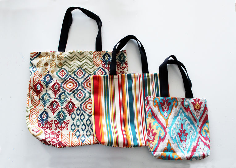 Easy Tote Bag Pattern In 3 Sizes (W/ Video Tutorial!) at Makerist - Image 1