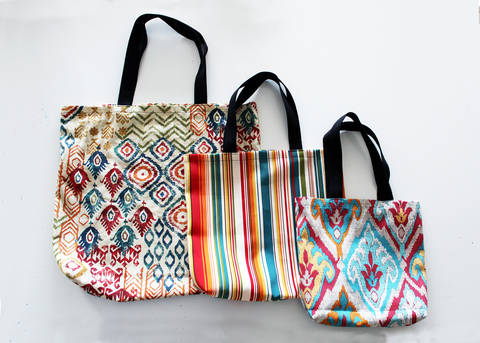 Easy Tote Bag Pattern In 3 Sizes (W/ Video Tutorial!) at Makerist