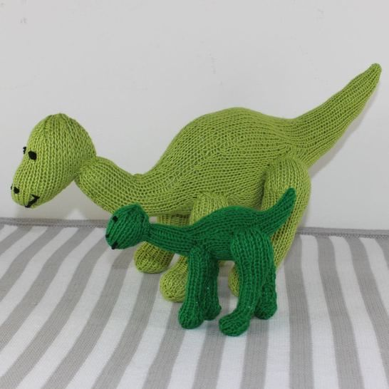 Cute Mother and Bay Dinosaur Toys at Makerist - Image 1