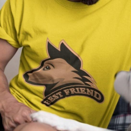 Hundekopf - Best friend - zum Plotten oder Sublimieren bei Makerist - Bild 1
