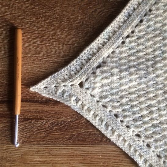 Cloud - crochet shawlette pattern at Makerist - Image 1