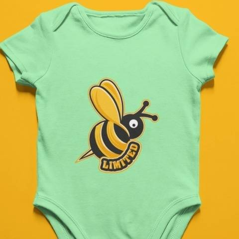 Biene mit dem Wort - Limited - zum Plotten oder Sublimieren bei Makerist