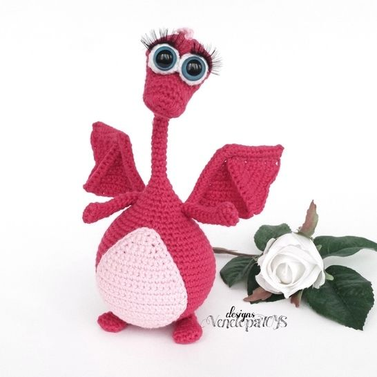 Amigurumi Dragon Crochet Pattern at Makerist - Image 1