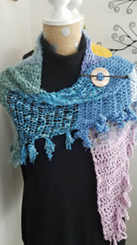 Jambalaya Shawl at Makerist