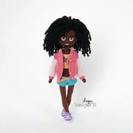 Amigurumi Modèle Poupée Naomi crochet chez Makerist - Image 1