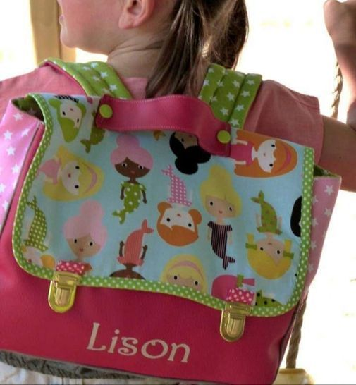 Cartable maternelle LUCKY chez Makerist - Image 1