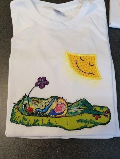 Frosch im Chillmodus!  22x12 bei Makerist - Bild 1