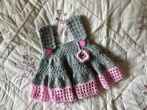 Little Lulu Crocheted Dress