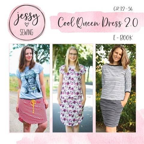 eBook *Cool Queen Dress 2.0* Kleid, Maxikleid GR. 32 BIS 56