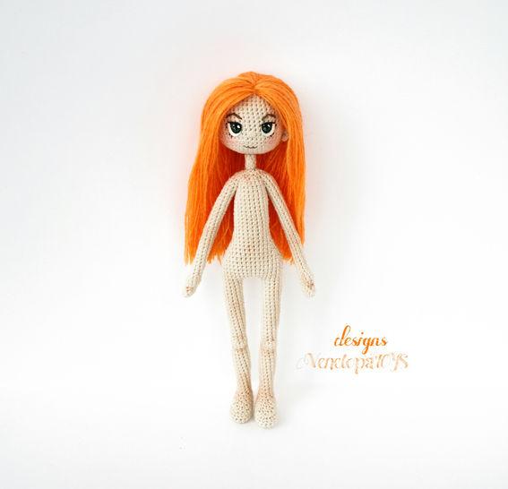 Amigurumi Doll Alex Crochet Pattern at Makerist - Image 1