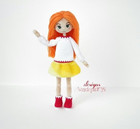 Amigurumi Doll Alex + clothes Crochet Pattern at Makerist - Image 1