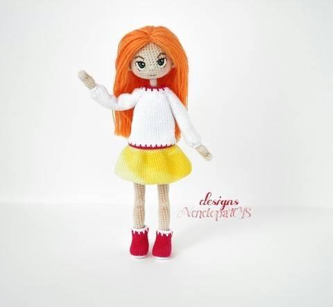 Amigurumi Doll Alex + clothes Crochet Pattern at Makerist