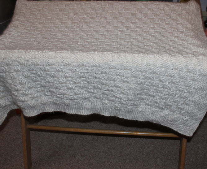 Baby Blanket by Madmonkeyknits at Makerist - Image 1