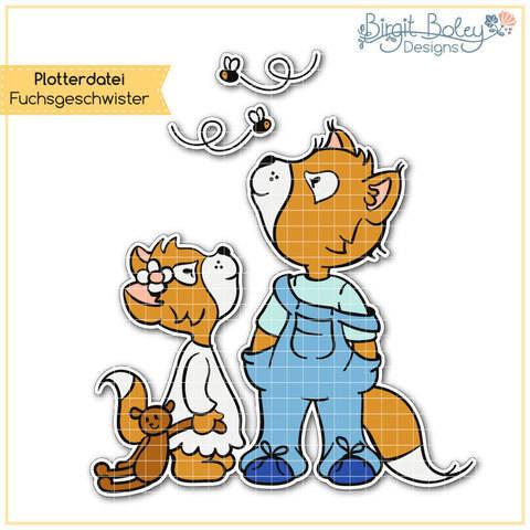 Birgit Boley Designs • Fuchsgeschwister