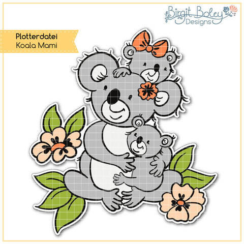 Birgit Boley Designs • Koala Mami bei Makerist