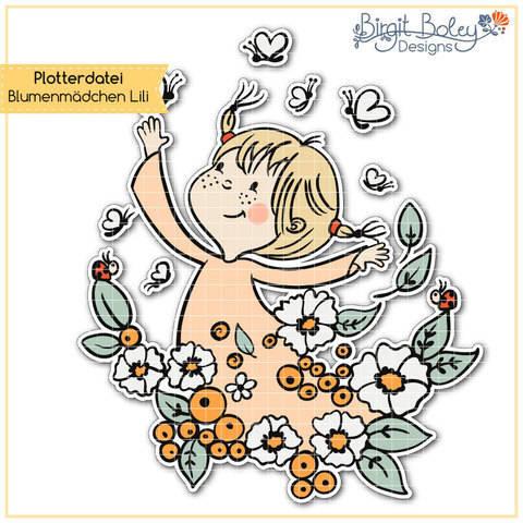 Birgit Boley Designs • Blumenmädchen Lili bei Makerist