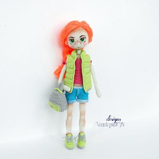 Amigurumi Doll Summer Crochet Pattern at Makerist - Image 1
