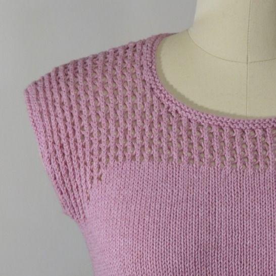 Eastham Tee - knitting pattern at Makerist - Image 1