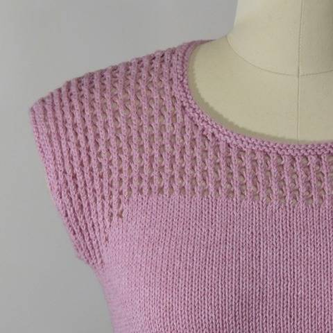 Eastham Tee - knitting pattern