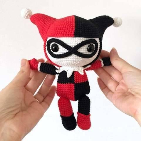 Harley Quinn - patron au crochet chez Makerist