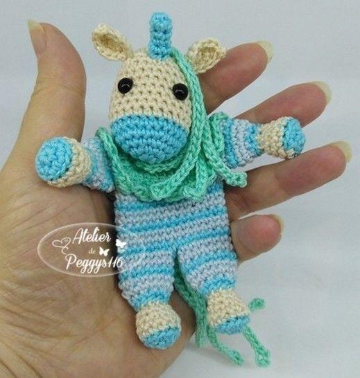 Mini Doudou Licorne chez Makerist - Image 1