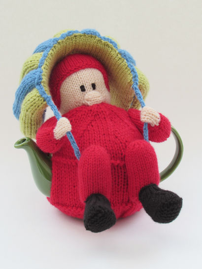 Parachutist Tea Cosy Knitting Pattern at Makerist - Image 1